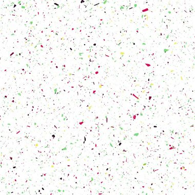 Seamless background with many tiny bright pieces clip art vector