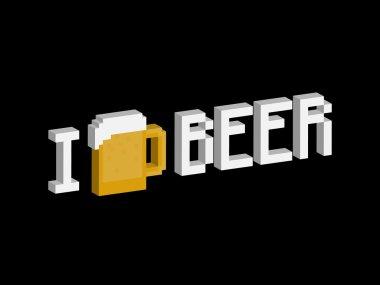 I love beer phrase