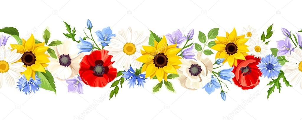 Flores Vectoriales Con Fondo Transparente: Flores Fondo Transparente