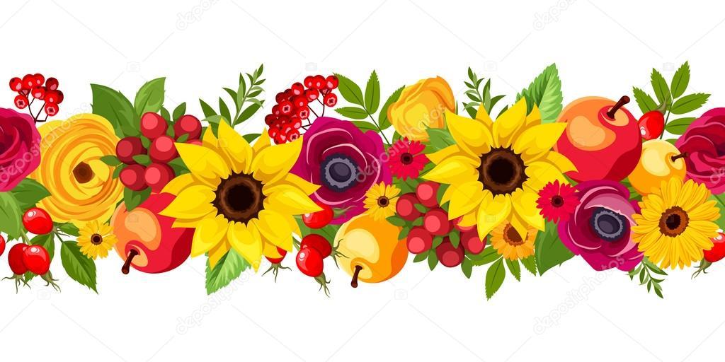 Flores Vectoriales Con Fondo Transparente