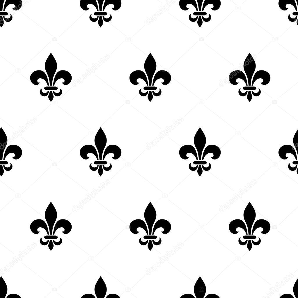 Áˆ Fleur De Lise Pattern Stock Vectors Royalty Free Fleur De Lis Illustrations Download On Depositphotos