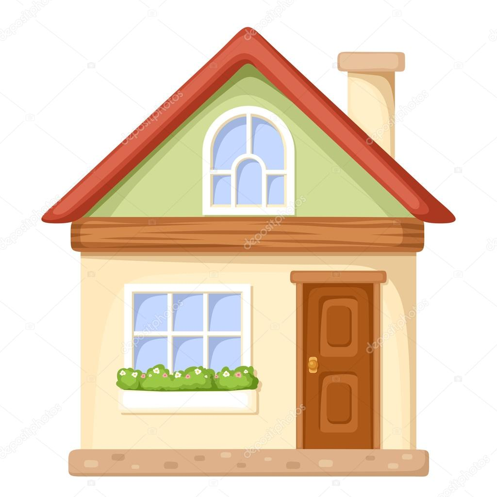 Home Front Design Illustrator: Imágenes: Fachadas De Casas Animadas