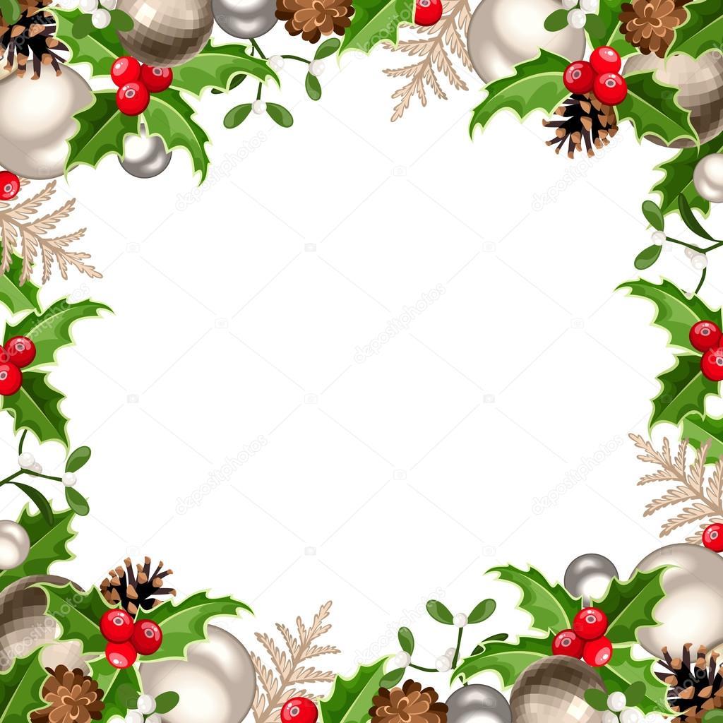 Immagini: cornice natalizia | Cornice di Natale ...