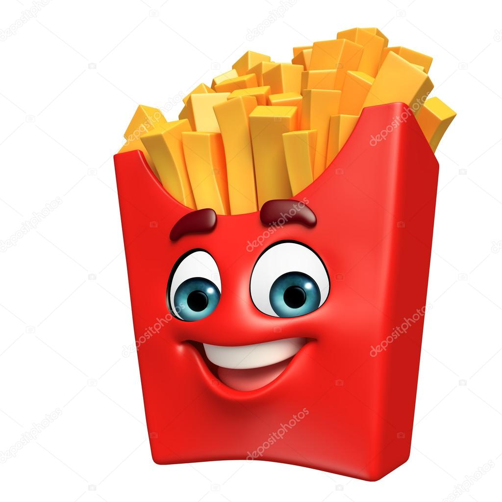 Cartoon Characters French Fries Cartoon Character Of French