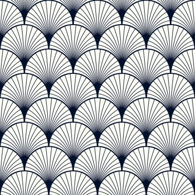 vintage pattern of shells