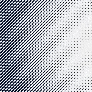 halftone waves