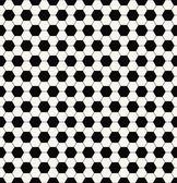 černobílý fotbalový vzor