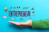 Fotografie Entrepreneur concept with hand
