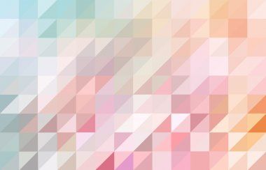 Colored triangular pattern background