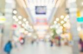 Fényképek Az emberek gyalog homályos bevásárlóközpont