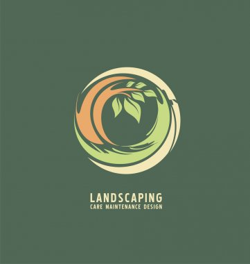 Landscaping logo design idea