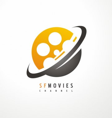 Creative logo design for movie and television industry