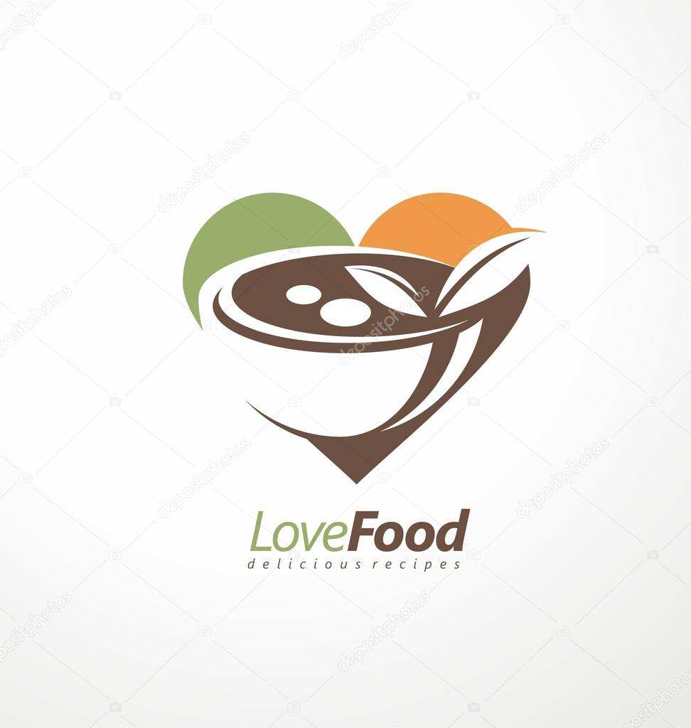 Restaurant Logo Design Inspiration Food And Restaurant Logo Design Idea Stock Vector C Lukeruk 84709916