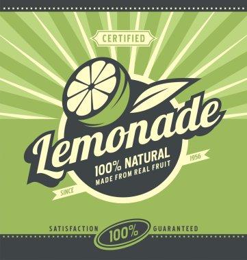 Lemon slice and lemonade