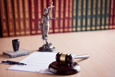Court Judge's gavel