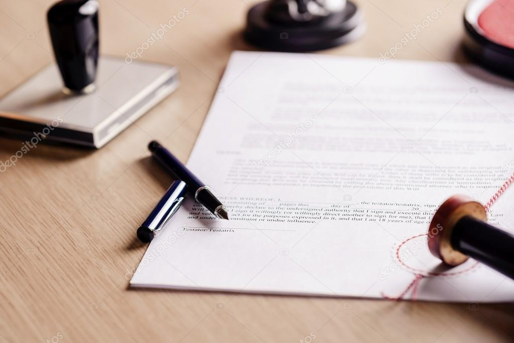 prijs testament notaris