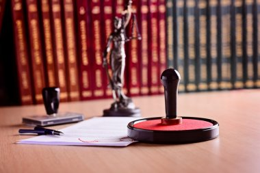 Notary's public working tools.