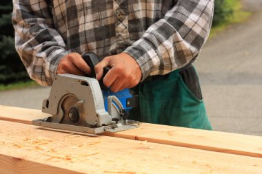 Hand-held electric saw