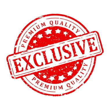 Red stamp - exclusive, premium quality