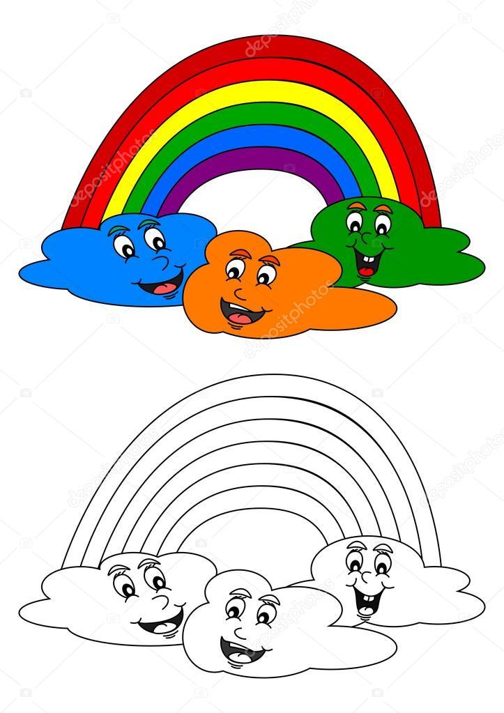 Imágenes: nubes pequeñas para colorear | Libro para colorear para ...