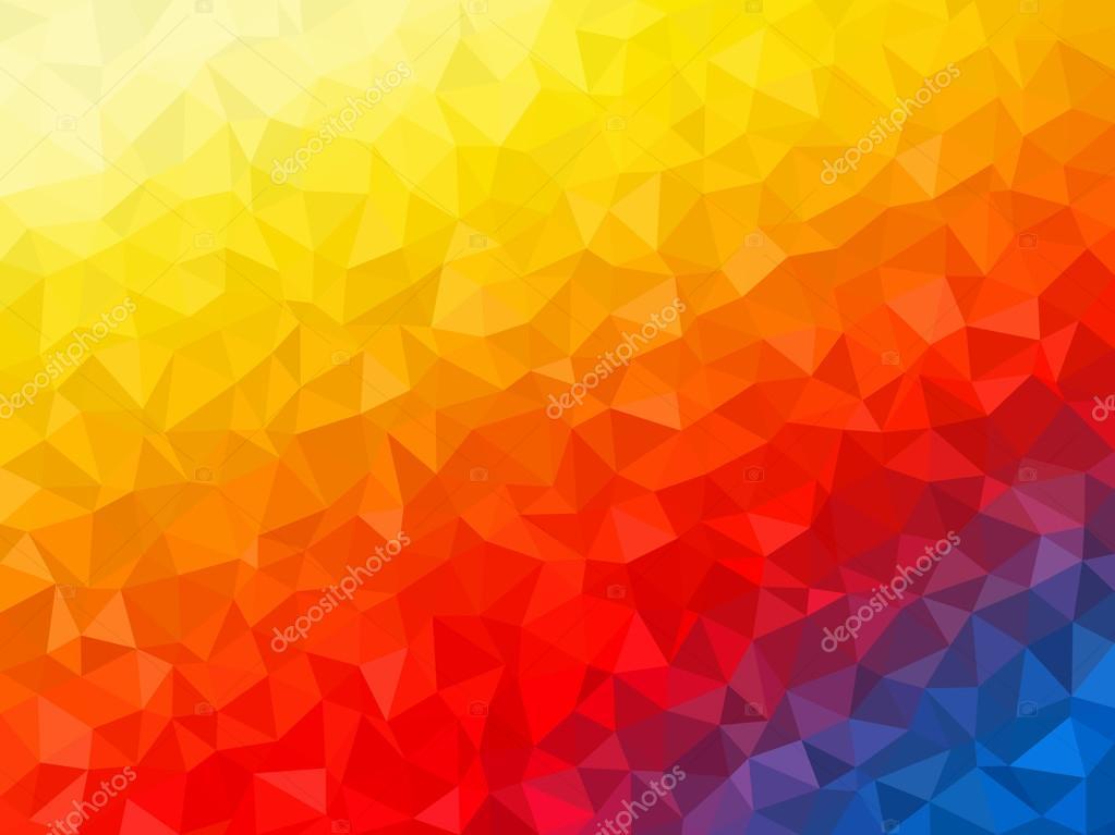 Fondo: Amarillo Y Azul Abstracto