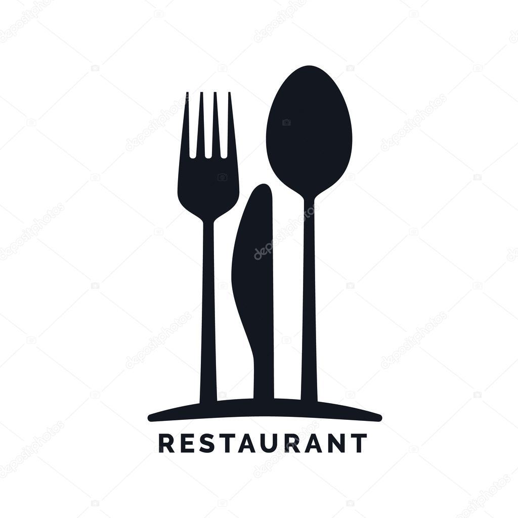 Gastronomia s mbolo de restaurante vetor de stock for Stock cuisine saint priest