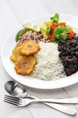 Fotografie Traditional cuban cuisine