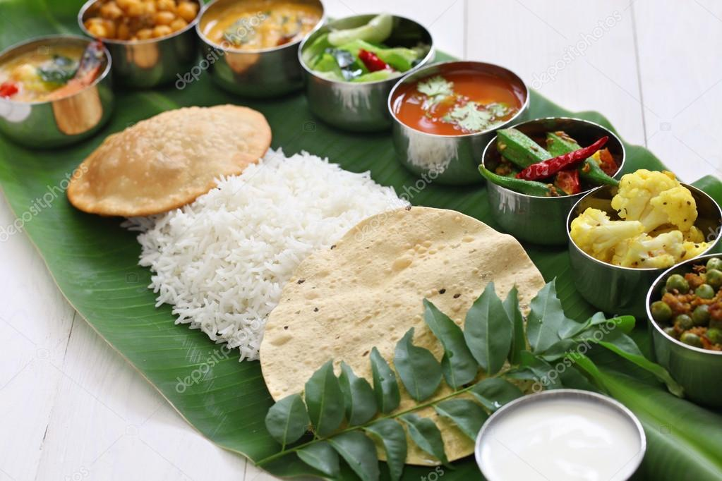 Typical South Indian Food