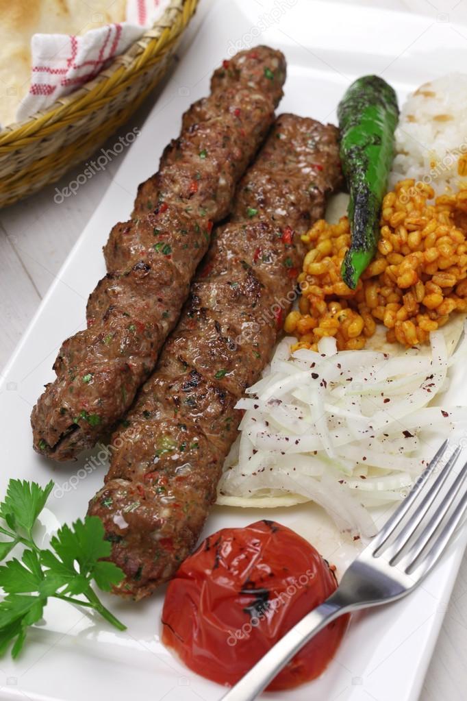 Adana Kebab De La Cuisine Turque Photographie Asimojet C 88309086