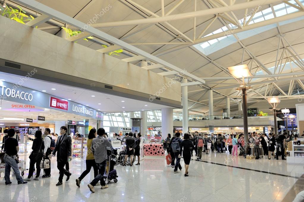 Flughafen Seoul Incheon International — Redaktionelles Stockfoto ...