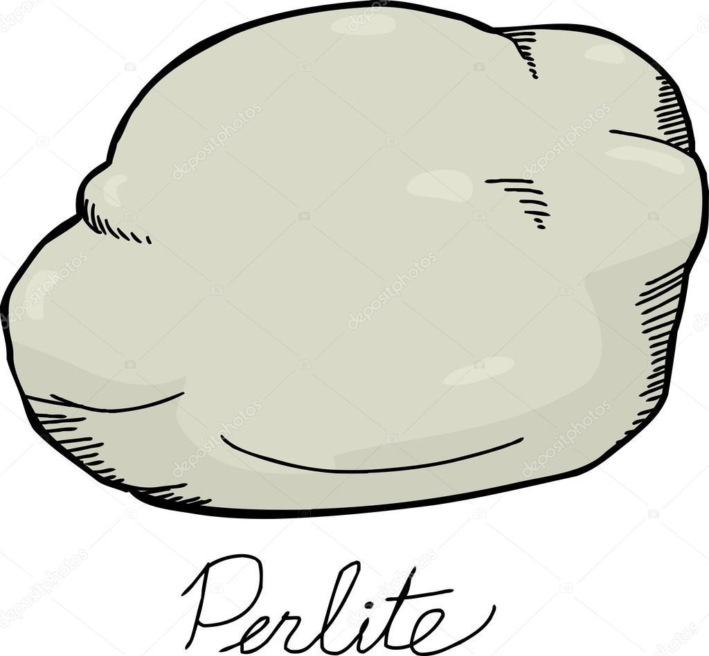 Perlita Roca Dibujo Vector De Stock Theblackrhino 62306307