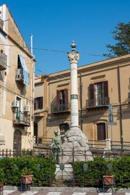 Piazza Armando Diaz. Cefalu, Sicily.