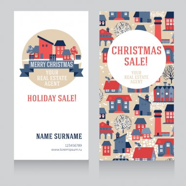 Real estate cards for christmas sale