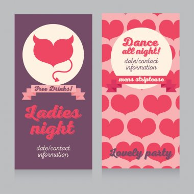 Template for Ladies night party