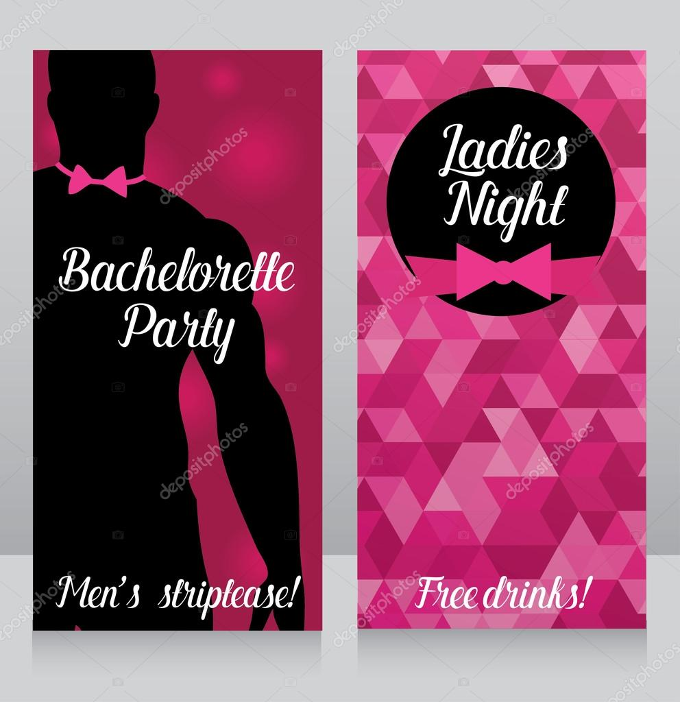 Bachelorette Party Invitation Template Free from st2.depositphotos.com