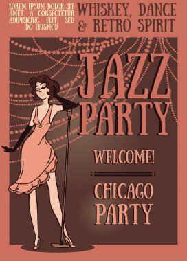 Chicago party poster