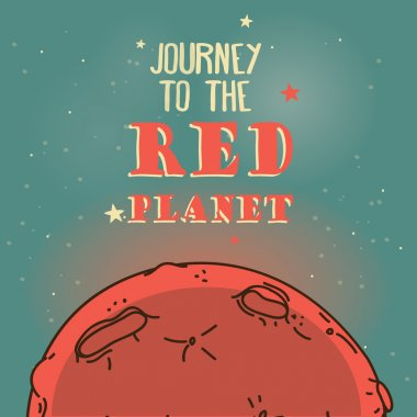 Poster for Mars colonization program