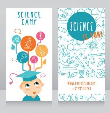 Cards for science camp