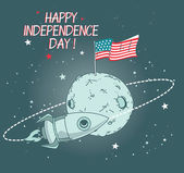 Card for independence day
