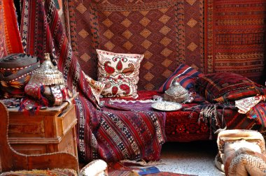 Turkish bazaar, carpet market