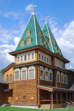 Architecture of Kolomenskoye park