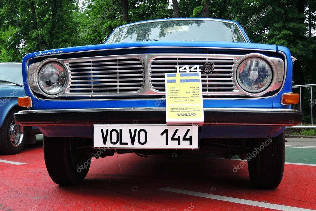 Old Volvo Car At Retro Fest In Moscow Stock Editorial