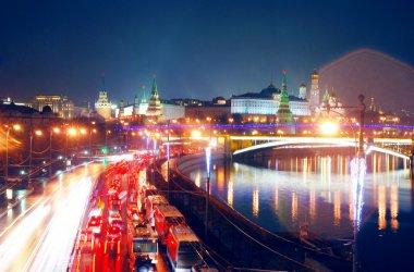 Moscow Kremlin. Night scene.
