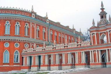 Tsaritsyno park in Moscow