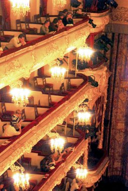 Bolshoy theater historic building interior.
