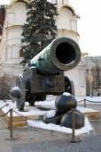 40tunové dělo v moskevského Kremlu. Světového dědictví UNESCO