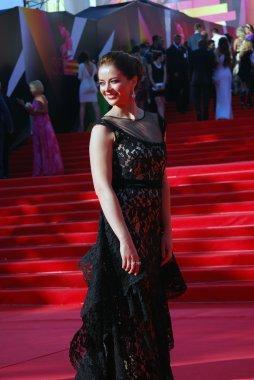 Actress Marina Alexandrova at Moscow Film Festival
