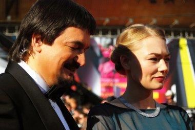 Actress Oksana Akinshina at Moscow Film Festival