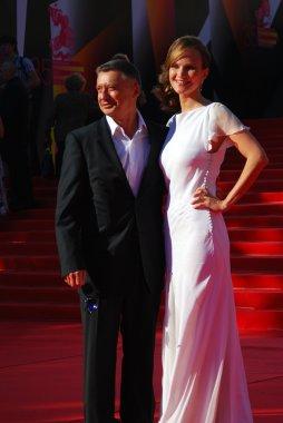 Anton Tabakov at Moscow Film Festival
