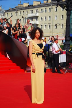 Ksenia Rappoport at Moscow Film Festival
